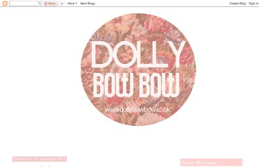 http://dollybowbow.blogspot.com/search?updated-max=2012-01-20T12:45:00-08:00&max-results=7