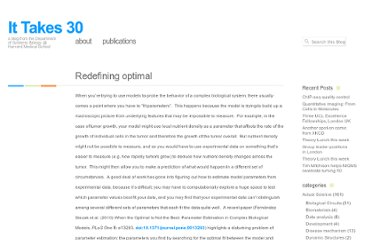 http://ittakes30.wordpress.com/2010/11/16/redefining-optimal/