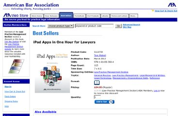 http://apps.americanbar.org/abastore/index.cfm?section=main&fm=Product.AddToCart&pid=5110739
