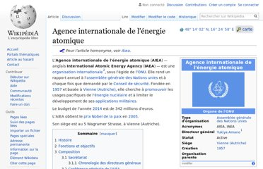 https://fr.wikipedia.org/wiki/Agence_internationale_de_l%27%C3%A9nergie_atomique