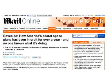 http://www.dailymail.co.uk/sciencetech/article-2112146/Mystery-U-S-X-37B-space-plane-orbit-year.html