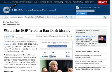 http://www.propublica.org/article/when-the-gop-tried-to-ban-dark-money
