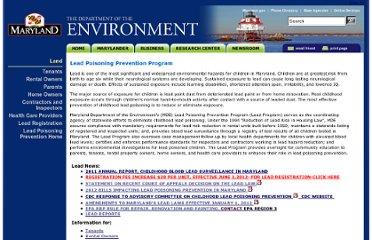 http://www.mde.state.md.us/programs/Land/LeadPoisoningPrevention/Pages/Programs/LandPrograms/LeadCoordination/index.aspx