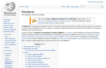 http://en.wikipedia.org/wiki/Database