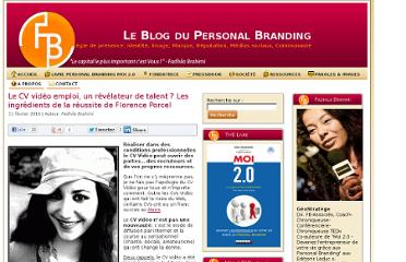 http://www.blogpersonalbranding.com/2010/02/le-cv-video-emploi-un-revelateur-de-talent-les-ingredients-de-la-reussite/