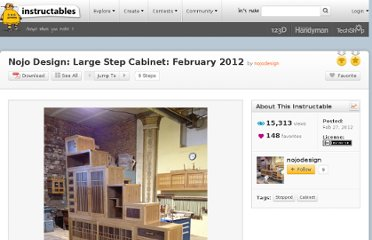 http://www.instructables.com/id/Nojo-Design-Large-Step-Cabinet-February-2012/