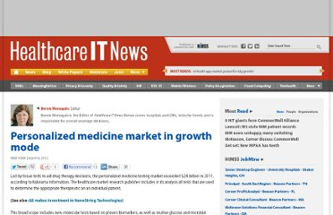 http://www.healthcareitnews.com/news/personalized-medicine-market-growth-mode