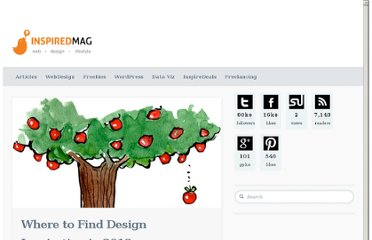 http://inspiredm.com/where-to-find-design-inspiration-in-2012/