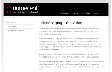 http://www.numecent.com/technology/cloudpaging.html