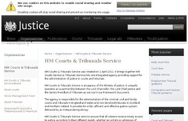http://www.justice.gov.uk/about/hmcts