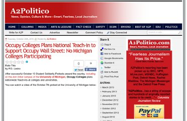 http://www.a2politico.com/2011/10/occupy-colleges-plans-national-teach-in-to-support-occupy-wall-street-no-michigan-colleges-participating/