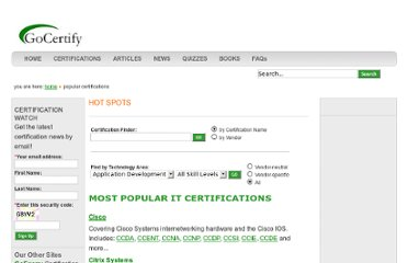 http://www.gocertify.com/certifications/index.html