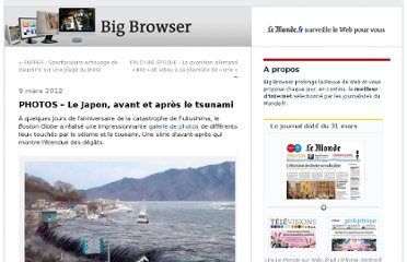 http://bigbrowser.blog.lemonde.fr/2012/03/09/photos-le-japon-avant-et-apres-le-tsunami/#xtor=RSS-32280322