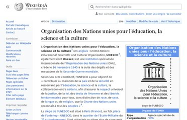 https://fr.wikipedia.org/wiki/Organisation_des_Nations_unies_pour_l%27%C3%A9ducation,_la_science_et_la_culture