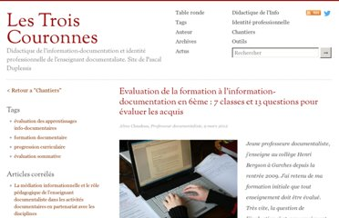http://lestroiscouronnes.esmeree.fr/chantiers/evaluation-de-la-formation-a-l-information-documentation-en-6eme