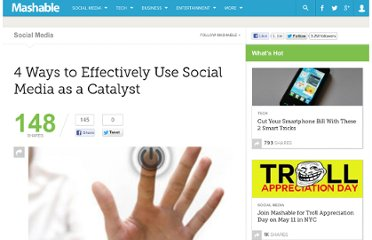 http://mashable.com/2010/03/12/social-media-catalyst/