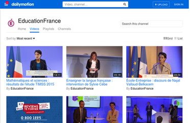http://www.dailymotion.com/user/Education_nationale/1
