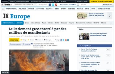http://www.lemonde.fr/europe/article/2011/10/20/seconde-journee-de-manifestations-en-grece_1590654_3214.html