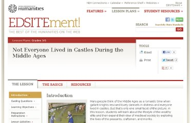 http://edsitement.neh.gov/lesson-plan/not-everyone-lived-castles-during-middle-ages