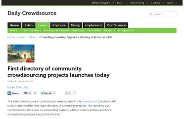http://dailycrowdsource.com/crowdsourcing/news/234-first-directory-of-community-crowdsourcing-projects-launches-today