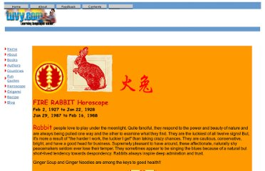 http://www.tuvy.com/entertainment/horoscope/fire_rabbit.htm
