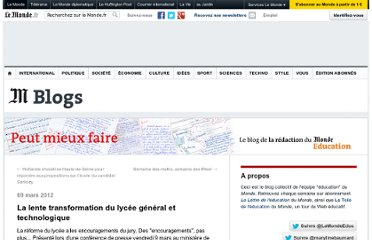 http://lemonde-educ.blog.lemonde.fr/2012/03/09/la-lente-transformation-du-lycee-general-et-technologique/
