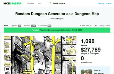 http://www.kickstarter.com/projects/2040314005/random-dungeon-generator-as-a-dungeon-map