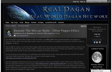 http://realpagan.net/forum/topics/beyond-the-wiccan-rede-other