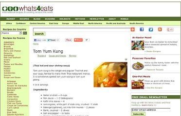 http://www.whats4eats.com/soups/tom-yum-kung-recipe