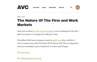 http://www.avc.com/a_vc/2012/03/the-nature-of-the-firm-and-work-markets.html