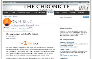 http://chronicle.com/blogs/onhiring/literary-analysis-as-scientific-method/30565