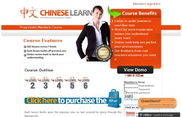 http://www.chineselearnonline.com/course-outline/