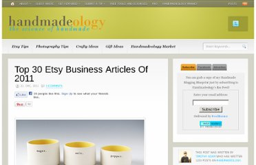 http://www.handmadeology.com/top-30-etsy-business-articles-of-2011/