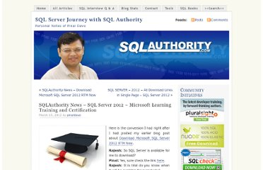 http://blog.sqlauthority.com/2012/03/10/sqlauthority-news-sql-server-2012-microsoft-learning-training-and-certification/