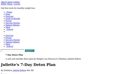 http://www.weightlossresources.co.uk/diet/detox/plan.htm