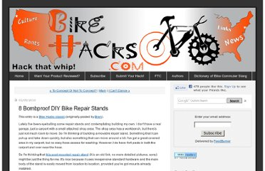 http://www.bikehacks.com/bikehacks/2010/03/8-bombproof-diy-bike-repair-stands.html