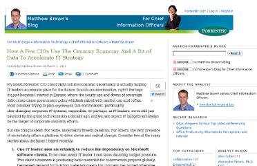 http://blogs.forrester.com/matthew_brown/12-03-01-how_a_few_cios_use_the_crummy_economy_and_a_bit_of_data_to_accelerate_it_strategy?cm_mmc=RSS-_-IT-_-940-_-blog_1099