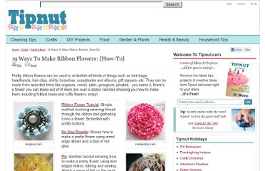 http://tipnut.com/ribbon-flowers/