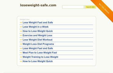 http://loseweight-safe.com/diets/weight-loss-problems-gone-forever/