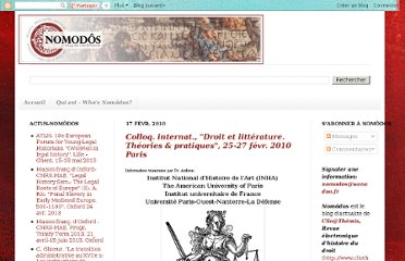 http://nomodos.blogspot.com/2010/02/colloq-internat-droit-et-litterature.html