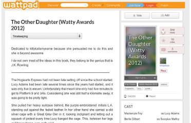 http://www.wattpad.com/3342293-the-other-daughter-watty-awards-2012-timekeeping