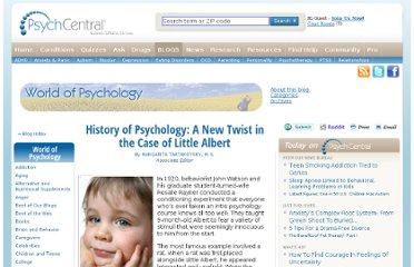 http://psychcentral.com/blog/archives/2012/03/10/history-of-psychology-a-new-twist-in-the-case-of-little-albert/