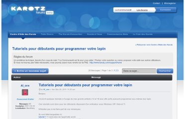 http://community.karotz.com/forumz/viewtopic.php?f=8&t=804