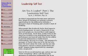 http://www.schulersolutions.com/leadership_self_test.html