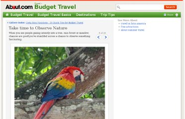 http://budgettravel.about.com/od/budgetdestinationguides/ig/Costa-Rica-Vacations---20-Tips/Birdwatching.htm