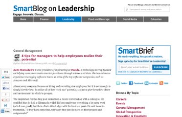http://smartblogs.com/leadership/2012/01/26/4-tips-for-managers-to-help-employees-realize-their-potential/