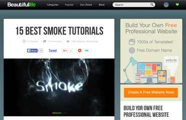 http://www.beautifullife.info/web-design/15-best-smoke-tutorials/