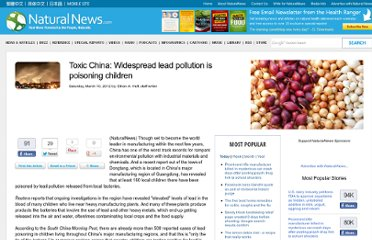 http://www.naturalnews.com/035202_lead_pollution_China_children.html