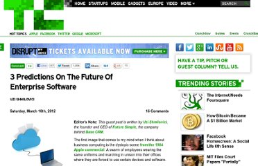 http://techcrunch.com/2012/03/10/3-predictions-future-of-enterprise-software/