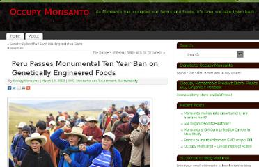 http://www.occupymonsanto360.org/2012/03/10/peru-passes-monumental-ten-year-ban-on-genetically-engineered-foods/